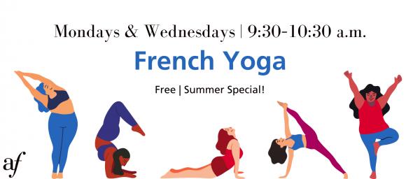 Yoga Class - August 2