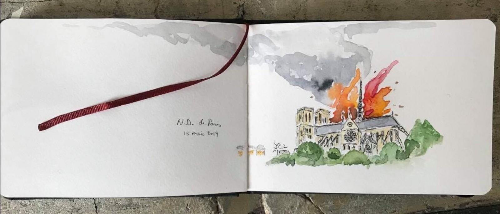 Notre Dame de Paris : Devastation and Reconstruction