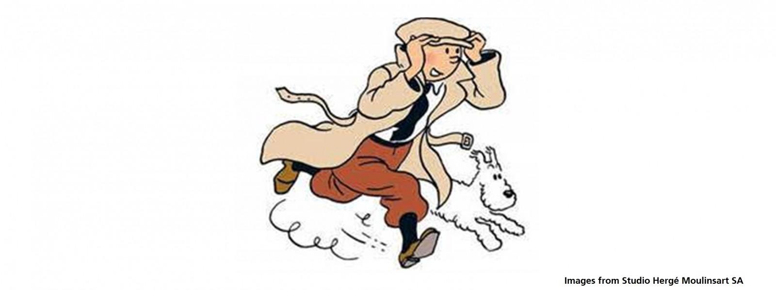 Tintin's 90th birthday