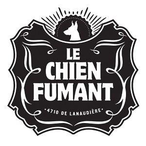 Chien Fumant Logo